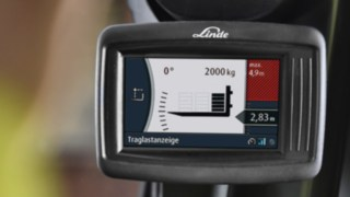 Display vom Linde Safety Pilot